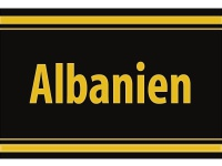 "1 x SAFE 1130 SIGNETTE Aufkleber selbstklebend "" Albanien """