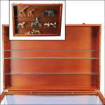 """2 x SAFE 5928 Echtglas Ergänzungs - Glas Fachböden 5 mm Stärke für die SAFE 5927 & 5924 Holzvitrine """" MAXI """""""