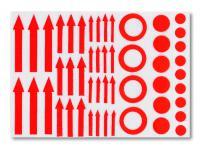 SAFE 1830 Kennzeichnungshilfen Pfeile Kreise Punkte Für Briefmarken Münzen Postkarten Mineralien