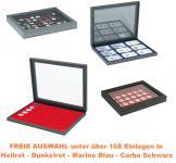 LINDNER 2367 NERA M PLUS Münzkassetten Kassetten Sammelkassetten mit Einlage nach FREIER AUSWAHL