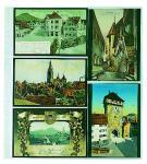 1 x SAFE 7750 Einsteckblätter Spezialblätter Favorit 3 quer & 2 senkrecht Für 10 alte Postkarten - Ansichtskarten - Banknoten - Geldscheine Papiergeld