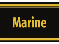 "1 x SAFE 1130 SIGNETTE Aufkleber selbstklebend "" Marine """