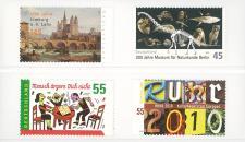 100 LINDNER 042 Klemmkarten weiss 2 Streifen für Briefmarken Für Omina Klemkartenblätter 030 - 040