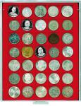 LINDNER 2135 MÜNZBOXEN Münzbox Standard 35 x 36 mm Münzen quadratischen Vertiefungen 5 Reichsmark