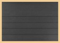 100 x KOBRA VT5 A5 Einsteckkarten Steckkarten Klemmkarten 5 Streifen + Schutzfolie VT5 für Briefmarken Banknoten