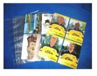 50 A4 Lookitup FOTOHÜLLEN SAMMELHÜLLEN POSTKARTENHÜLLEN KARTENHÜLLEN Ansichtskartenhüllen extra strake Ausfürhtung 120 my 4 Taschen 10x15 CM