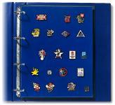 2 x SAFE 5460 Compact A4 Ergänzungsblätter Spezialblätter Samttafeln A4 Pins's Button Militaria
