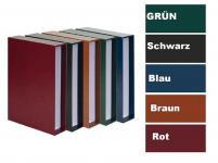 KOBRA FK Hellbraun - Braun Schutzkassette Kassette Für Ringbinder Album Münzalbum G17 G18 G172 G178 FR FE FESO CSX