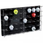 """SAFE 5246 Acrylglas Sammelvitrine Vitrinen Golfballvitrinen """" Golfbälle """" Für 40 Golfbälle"""
