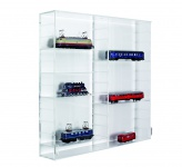 SAFE 5210 ACRYLGLAS Sammel Vitrinen Universal XL Modul A Maße 50 x 50 x 10 cm + 2 x 4 Zwischenböden - Für Ihre Schätze von A - Z