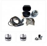 Lindner S7191 UV Detektor LED Taschenlupe 10x -fach Ultravioletlicht 365 nm + Zubehör