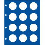 5 x SAFE 7848 TOPset Münzblätter Ergänzungsblätter Münzhüllen für 10 / 20 Euromünzen / DM Gedenkmünzen Deutschland oder Münzen 32, 5 mm
