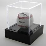 "SAFE 5243 Beleuchtete Acrylglas Präsentations Vitrinenwürfel Deko "" Light CUBE "" 100x100x100 mm Für Golf Golffbälle - Baseball Bälle - Tennisbälle -"