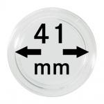 5 x Lindner S2255041P Spezial Münzkapseln Capsules EXTRA HOCH Innen-Ø 41 mm, Innenhöhe 5, 5 mm Ideal für Geocoins & TBs Travel Bugs & Geocaching
