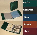 KOBRA G17 Schwarz ETB - Erstagsblatt - Album Sammelalbum mit 20 glasklaren Blättern G17E für 40 ETB 's