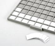 SAFE 6174 BEBA Beschriftungs Kartoneinlagen für Schubladen Schuber 6112 Münzboxen 6612 Maxi Münzkasten