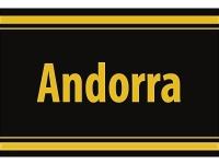 "1 x SAFE 1130 SIGNETTE Aufkleber selbstklebend "" Andorra """