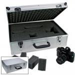 """SAFE 218 ALU Technik Koffer """" PROFI """" Für Technikgeräte Ausrüstung Zubehör Messen Kalkulieren Wiegen"""