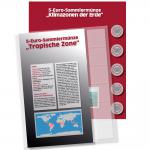 1 x SAFE 7360-2 Premium Münzblatt & Vordruckblatt Deutsche 5 Euromünzen Blauer Planet Erde Tropische Zone 2017 Edition 2016 - 2021