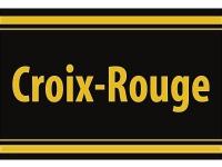 """1 x SAFE 1130 SIGNETTE Aufkleber selbstklebend Rotes-Kreuz """" Croix-Rouge """""""