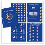 SAFE 5414-16 Nachtrag PREMIUM DEUTSCHLAND EURO 4 Münzblätter + Vordrucke 2016