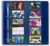 5 x SAFE 471 Compact A4 Ergänzungsblätter Spezialblätter Telefonkarten / Visitenkarten