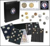 SAFE 7368-1 PREMIUM MÜNZALBUM KÖNIGREICH Großbritannien - England - Untied Kingdom UNIVERSAL mit 4 Münzblättern für 134 Münzen Mixed - Von Wilhelm dem Eroberer 1066 bis Elisabeth II heute