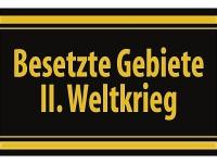 """1 x SAFE 1130 SIGNETTE Aufkleber selbstklebend """" Besetzte Gebiete II. Weltkrieg """""""