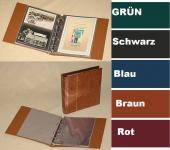 KOBRA G18 Blau ETB - Erstagsblatt - Album Sammelalbum mit 20 glasklaren HARTFOLIEN Blättern G18E für 40 ETB 's