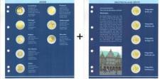 LEUCHTTURM 338683 NUMIS 2 EURO Nachtrag 2010 - 2011