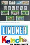 100 x C6 KOBRA Einsteckkarten Steckkarten Klemmkarten mit 4 Streifen + Folienschutzblatt für Briefmarken