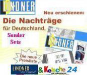 LINDNER T-Vordruckblätter Nachträge Bund 1980-1989