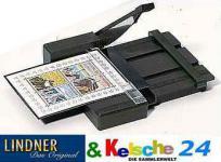 LINDNER 7001 Schneidemaschine Schneidegerät Klein breite 100 mm Für Papier Folien Pappe Karton Klemmstreifen