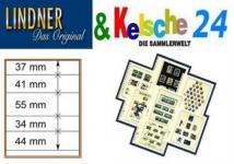 LINDNER T-Blanko-Blätter m. 5 Streifen 10er Pack 80