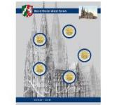 1 x SAFE 7821-6 TOPset Ergänzungsblatt Münzhüllen für 2 Euromünzen Deutsche Bundesländer Kölner Dom Nordrhein-Westfalen 2011