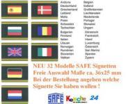 1x SAFE SIGNETTE EUROPA Flaggen freie Auswahl - 20%