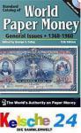 Standard Catalog of World Paper Money Vol II 2009 +