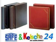 SAFE 1518 Leder Schutzkassette Weinrot - Rot Für den SAFE 1508 Leder Ringbinder Album FAVORIT Weinrot - Rot