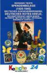 Tieste Spendenbelege DJH Deutsches Rotes Kreuz Reic
