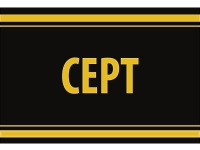 """1 x SAFE 1130 SIGNETTE Aufkleber selbstklebend Briefmarken """" Cept """""""