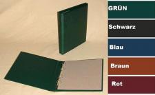 KOBRA G22B Hellbraun - Braun Universal Doppel-FDC-Album Sammelalbum (leer) zum selbstbefüllen