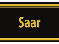 """1 x SAFE 1130 SIGNETTE Aufkleber selbstklebend """" Saar """" Saarland"""