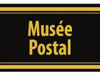 """1 x SAFE 1130 SIGNETTE Aufkleber selbstklebend """" Musee Postal """" (französisch)"""