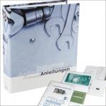 SAFE 4009 Dokumenten Ordner Familie Betriebsanleitungen DIN A4 Ringbinder Für Anleitungen Garantien Rechnungen