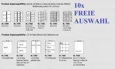 10 x SAFE PREMIUM Münzhüllen Ergänzungsblätter 7389 7390 7391 7392 7393 7394 7395 7396 7397 7398 7399 7400 FREIE AUSWAHL
