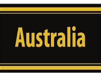 "1 x SAFE 1130 SIGNETTE Aufkleber selbstklebend Australien "" Australia """