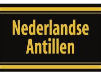 """1 x SAFE 1130 SIGNETTE Aufkleber selbstklebend """" Nederlandse Antillen """" Niederländische Antillen"""
