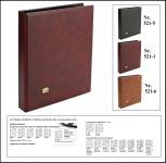 SAFE 521-1 Weinrot - Rot Universal Album Ringbinder (leer) zum selbst befüllen Platz für bis zu 60 Blätter