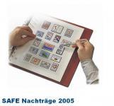 SAFE 1605 dual Nachträge - Nachtrag / Vordrucke Frankreich - France Jahresschmuckblätter - 2005