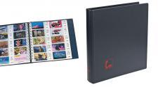 """SAFE 7579 Ringbinder Favorit """" VISIT """" Visitenkartenalbum Für 50 Visitenkarten erweiterbar bis 200"""